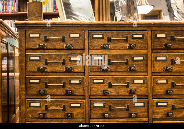Card Catalog Stock Photos & Card Catalog Stock Images - Alamy