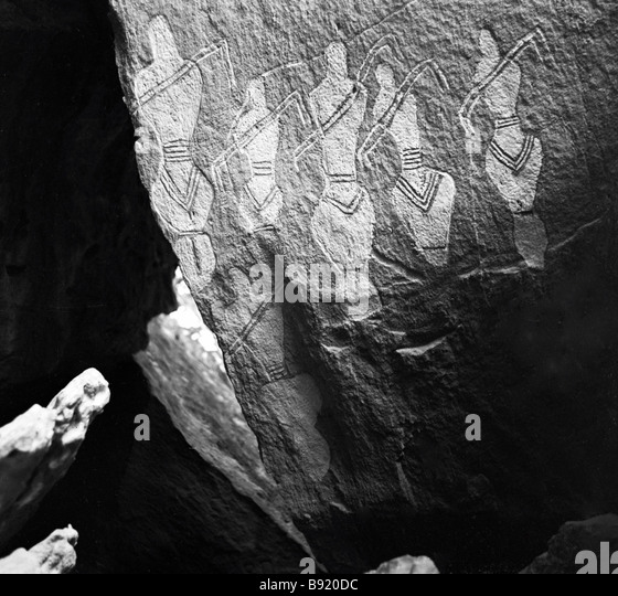 Cave drawings stock photos images