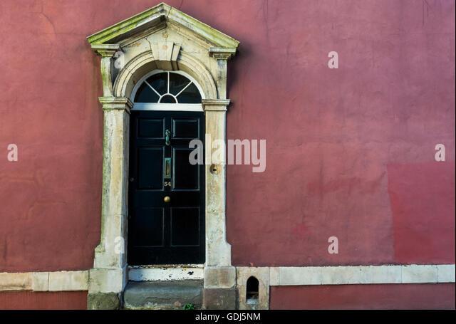 Georgian doorway stock photos georgian doorway stock for Door 43 sheffield