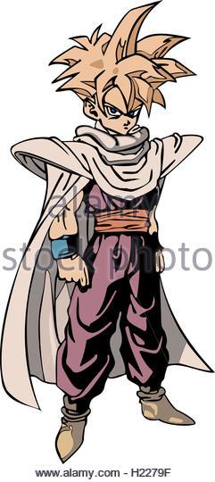 Dragon Ball Z Cartoon Characters : Cartoon character animated series stock photos
