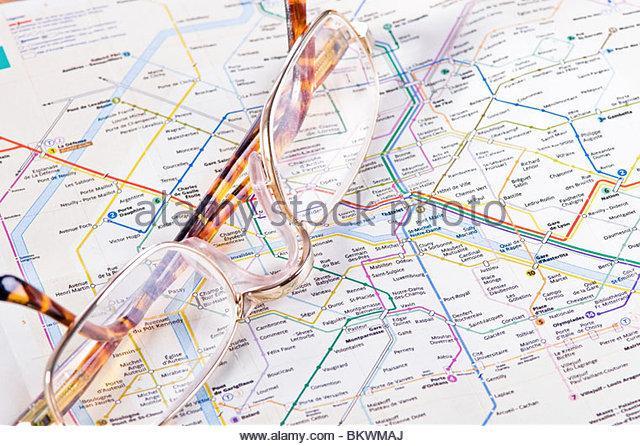Paris Subway Map Photos Paris Subway Map Images Alamy – Map Subway Paris