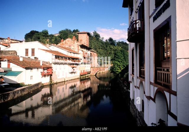Saint jean pied du port stock photos saint jean pied du port stock images alamy - Hostel st jean pied de port ...