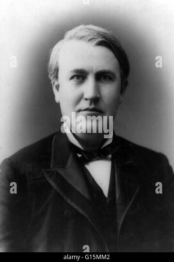 a biography of thomas alva edison an american inventor 2013-2-26 thomas edison was a driven inventor and businessman that constantly strove to improve and experiment everyday he is best known for inventing the modern light bulb, but also held a record number of patents (1,093) to other inventions that he and his employees worked on.