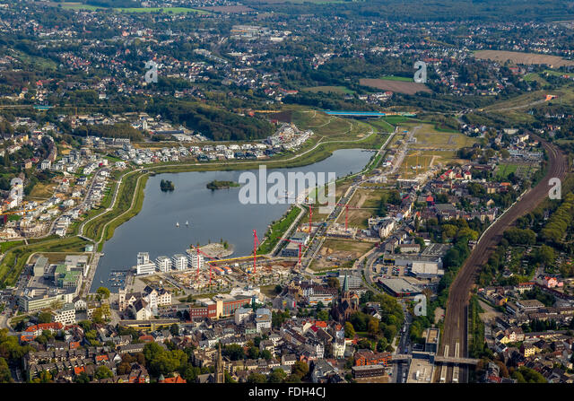 Phoenix Lake Dortmund Hörde Emscher Stock Photos & Phoenix Lake ...