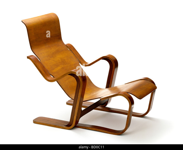 chair by marcel breuer london britain stock image