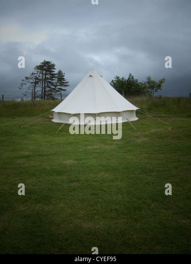 A classic TeePee tent C&ing in rainy weather in the UK Sennen Cove Lands End & Teepee Holiday Stock Photos u0026 Teepee Holiday Stock Images - Alamy