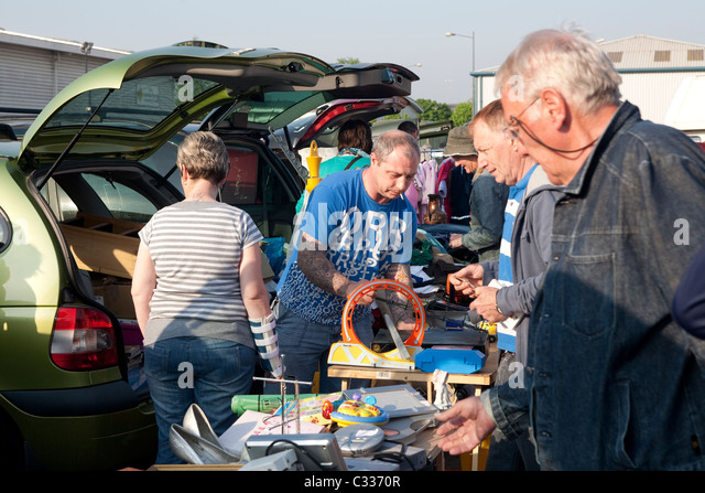 Cardiff Airport Car Boot Sale