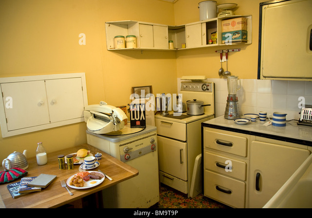 1950S Kitchen Enchanting 1950S Kitchen Stock Photos & 1950S Kitchen Stock Images  Alamy Review