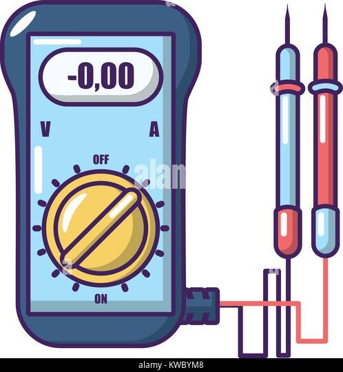 Cartoon Battery Tester : Ammeter stock photos images alamy