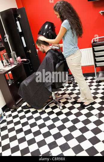 how to cut hair male with clippers