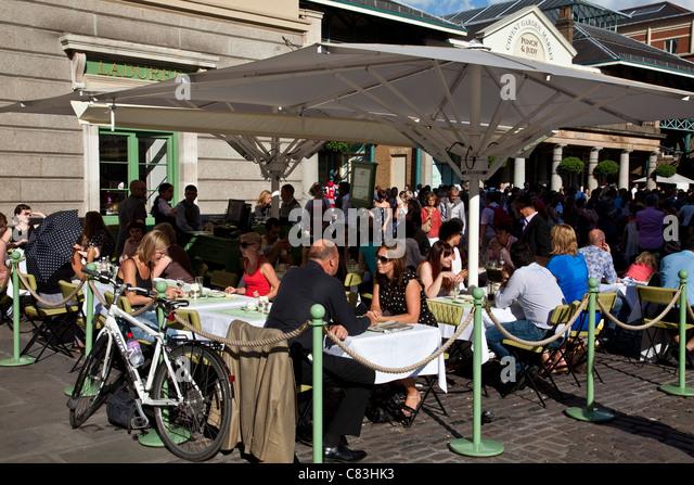 outdoor restaurant england stock photos outdoor