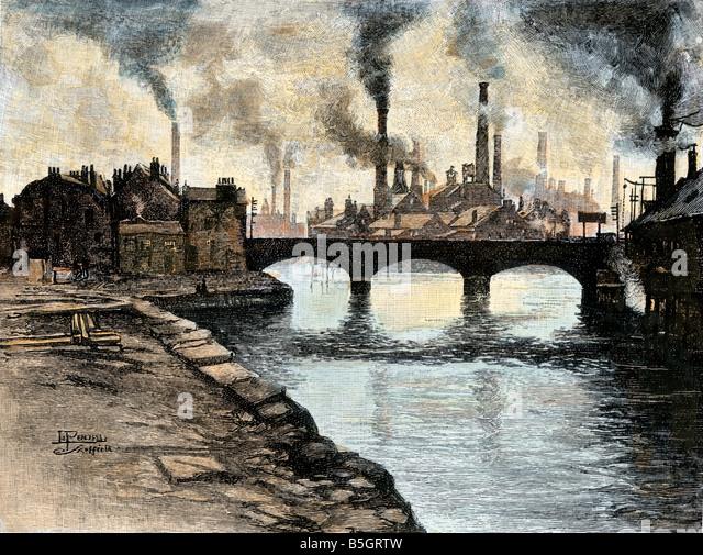 Industrial Revolution England Factory Stock Photos ...