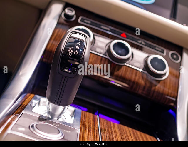 automatic transmission with manual shift mode