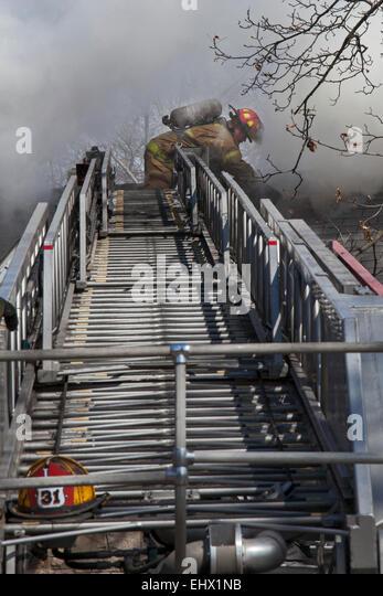 Fire Ladder America Stock Photos Amp Fire Ladder America