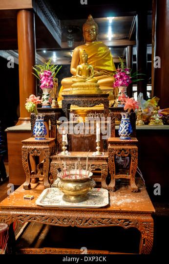 Samut Sakhon Thailand  city photo : Thailand, Samut Sakhon Province, Samut Sakhon, Temple Wat Pom, Prayer ...