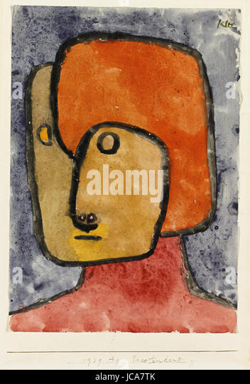 Paul Klee - Pretender 1939 - Stock Image