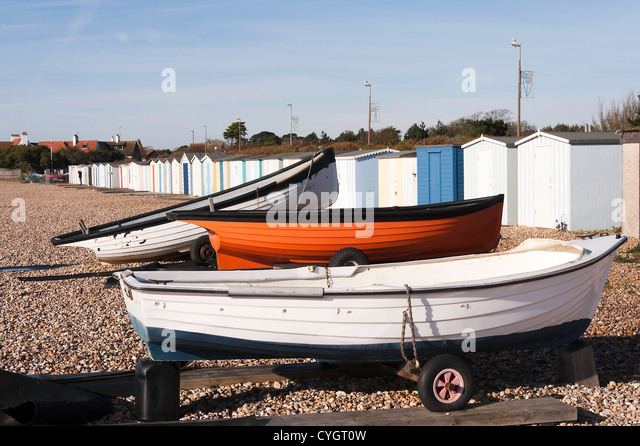 Travel trailer on beach stock photos travel trailer on for Inshore fishing boats