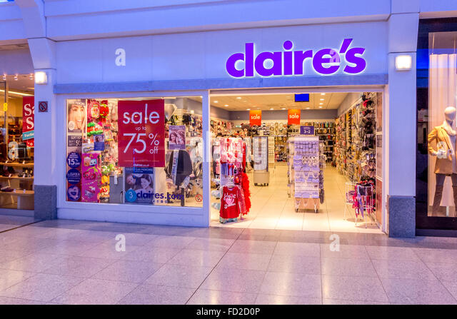 Image Gallery Mall Claire's