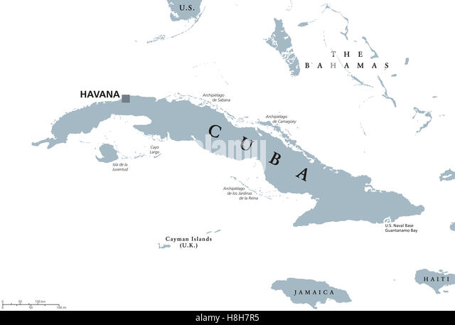 Havana Map Stock Photos Havana Map Stock Images Alamy - Jamaica political map 1968