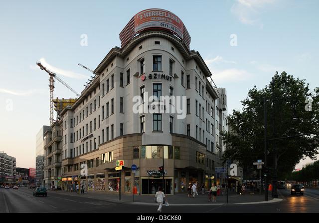 Hotel Azimut Berlin Joachimstaler Strasse