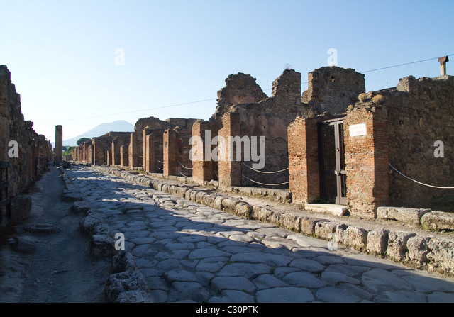 Ruined City Pompeii Italy Stock Photos & Ruined City ...