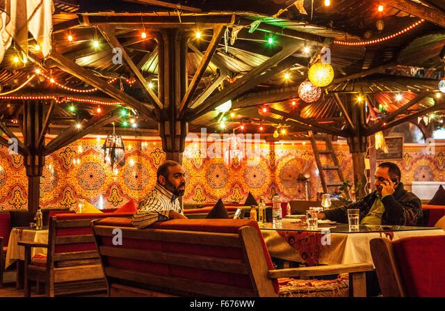 Restaurant egypt stock photos