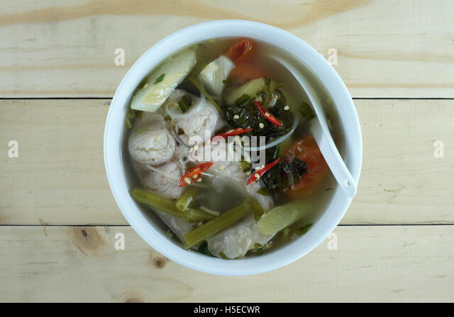 Vietnamese Sweet And Sour Soup Stock Image