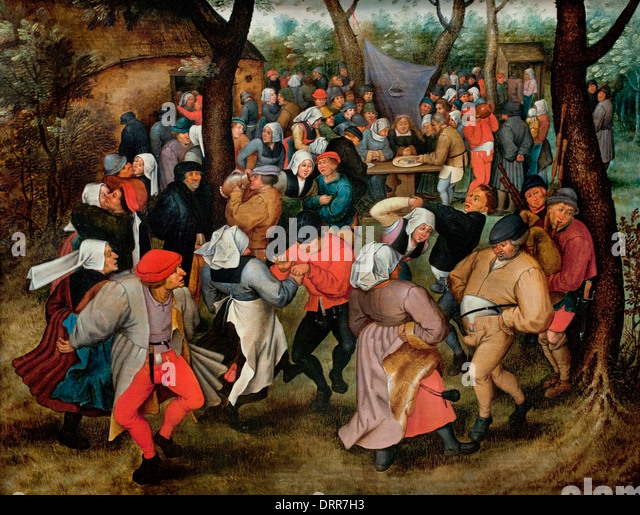 Wedding Dance Outdoors Pieter II Brueghel The Younger 1527 1569 Flemish Belgian Belgium