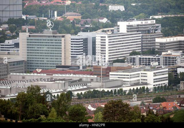 Stuttgart untertuerkheim stock photos stuttgart for Mercedes benz website germany