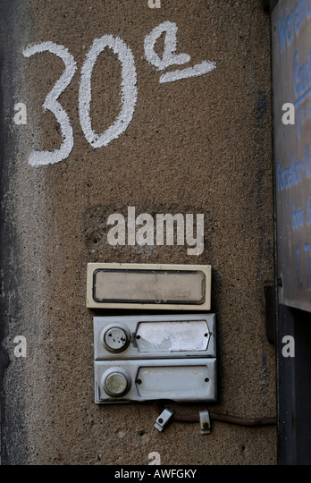 Apartment Door Numbers Stock Photos & Apartment Door Numbers Stock ...