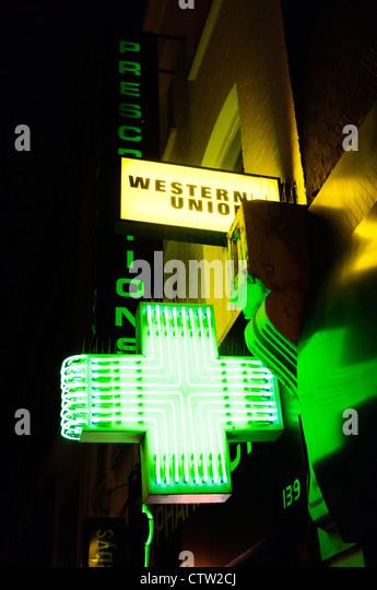 pharmacy neon sign stock photos  u0026 pharmacy neon sign stock