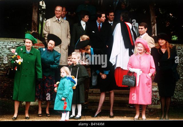 Royal Christmas Sandringham Stock Photos & Royal Christmas ...