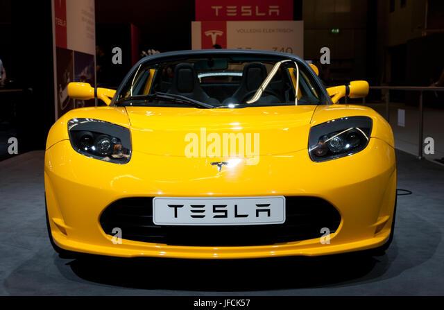 Tesla Roadster Stock Photos Tesla Roadster Stock Images Alamy