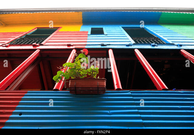 Conventillo stock photos conventillo stock images alamy for Old deep house