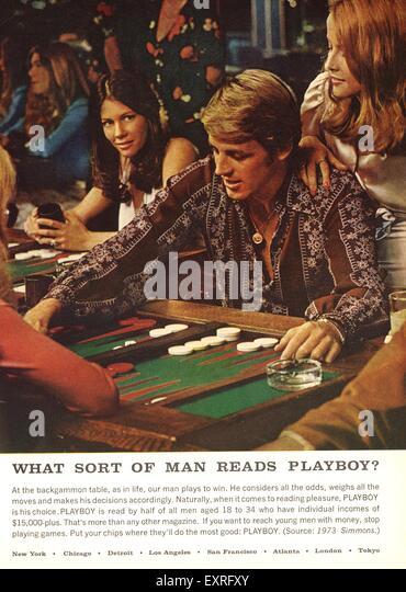 Playboy Magazine 1970's Lot of 7 w/ original Mailers