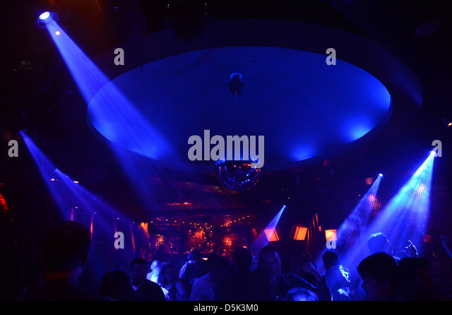 Nightclub Interior Neon Stock Photos & Nightclub Interior ...