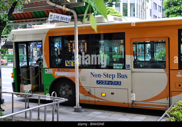 Steps For Buses : Non step bus stock photos images alamy