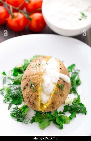 how to make cream potato sauce