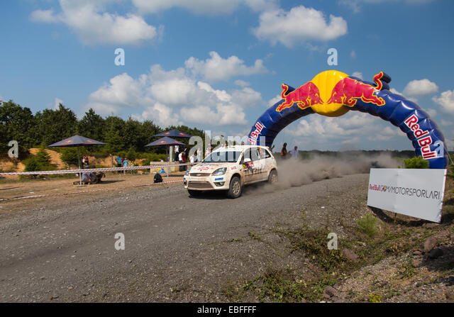 fiesta rally car stock photos fiesta rally car stock images alamy. Black Bedroom Furniture Sets. Home Design Ideas