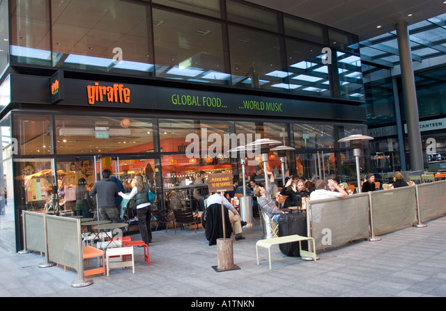 Brushfield street stock photos brushfield street stock for Food bar giraffe