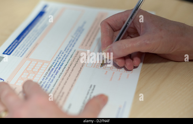 Benefit Claim Form Stock Photos & Benefit Claim Form Stock Images