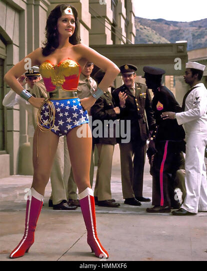 Wonder Woman Lynda Carter Stock Photos Amp Wonder Woman