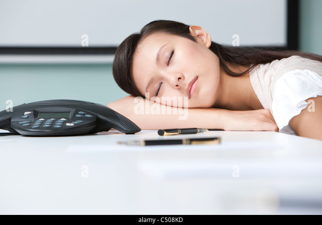 young businesswoman napping in meeting room stock image business nap office relieve