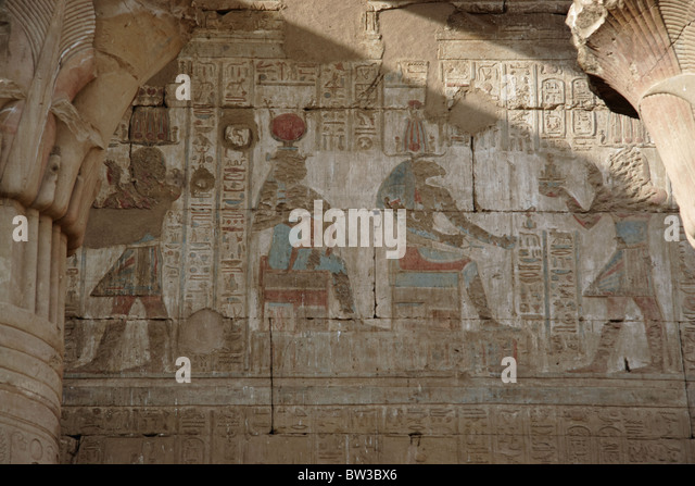 Mural paintings egyptian culture stock photos mural for Egyptian mural painting