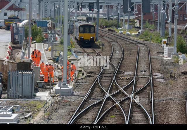 train tracks and orange1 - photo #23