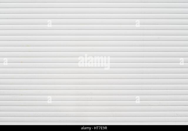 white garage door texture. White Metal Roller Door Shutter Background And Texture - Stock Image Garage