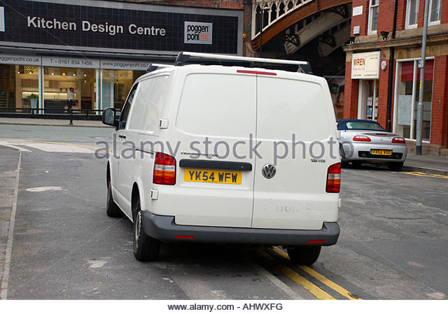 Illegal Parking Manchester Stock Photos Illegal Parking Manchester Stock Images Alamy