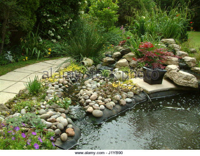 Pond Liner Stock Photos Pond Liner Stock Images Alamy