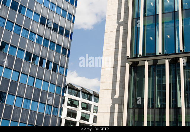 facades of an office building stock image building an office