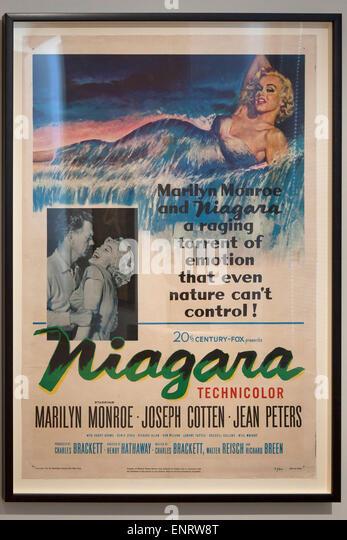 niagara starring marilyn monroe movie poster 1953 smithsonian national gallery of art